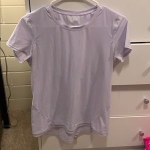 Lululemon periwinkle work out t shirt
